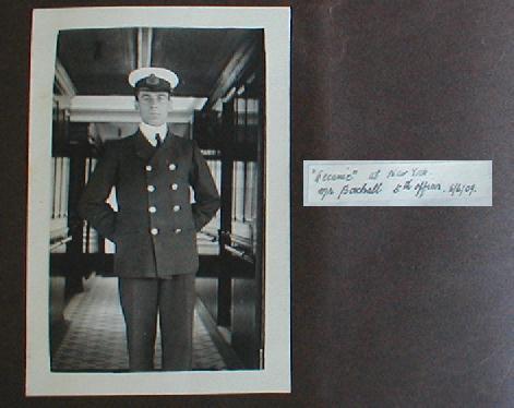 The Bell Photo Album : Lightoller et Boxhall Alb2