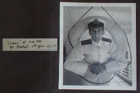 The Bell Photo Album : Lightoller et Boxhall Alb3