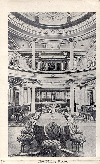 Inside the Lusitania